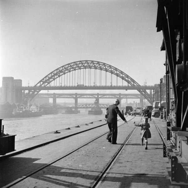 Newcastle Upon Tyne Photograph - Quayside Walk by Maurice Ambler