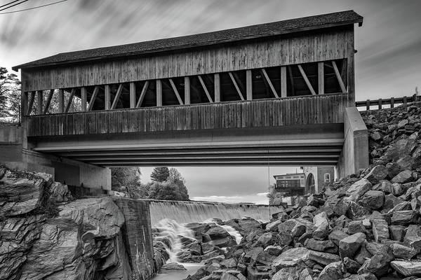 Photograph - Quechee Covered Bridge by Rick Berk