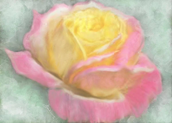 Painting - Queen Bella Rose -  I Care by Sannel Larson