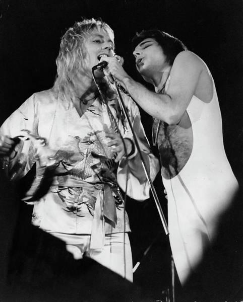 Queen Photograph - Queen Concert by Keystone Features
