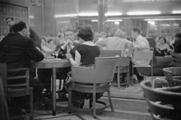 Caucasian Photograph - Queen Elizabeth Bar by Bert Hardy