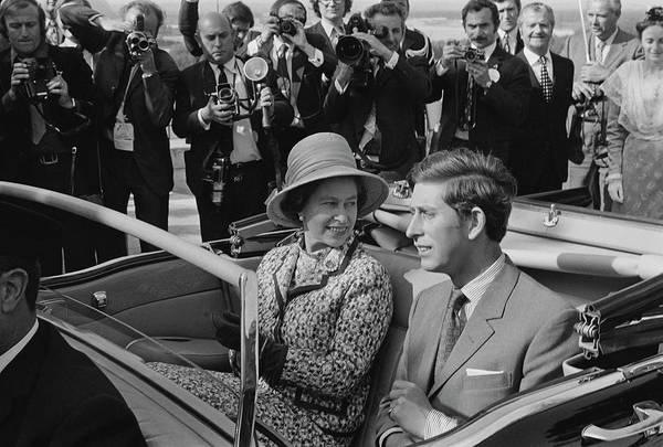 Photograph - Queen Elizabeth II In France by Reg Lancaster