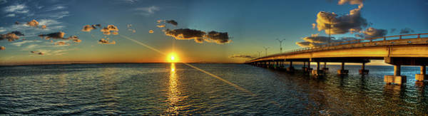 Beauty In Nature Photograph - Queen Isabella Causeway by Joshua Bozarth