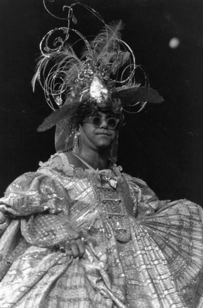 Elton John Photograph - Queen John by Express