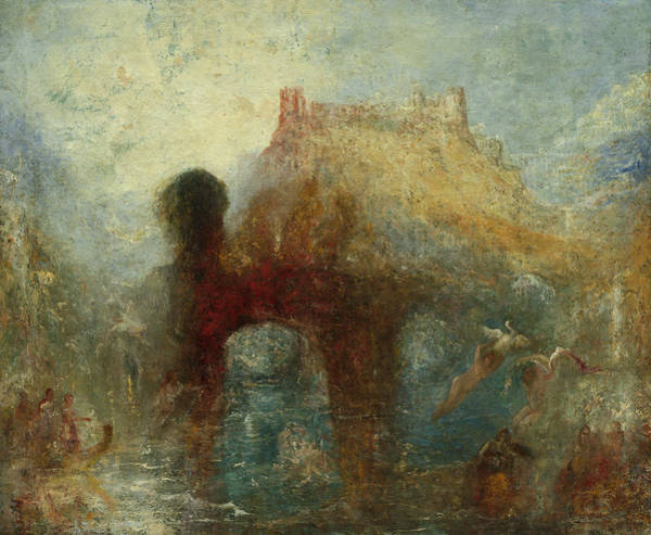 Wall Art - Painting - Queen Mab's Cave, 1846 by Joseph Mallord William Turner