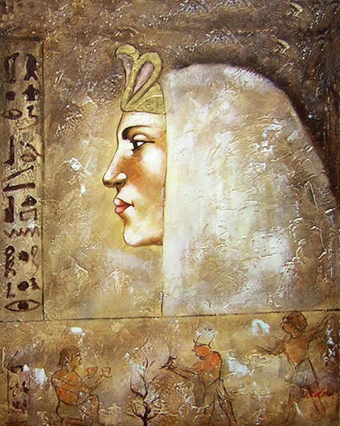 Painting - Queen Mother by Anonymous Ancient Egyptian