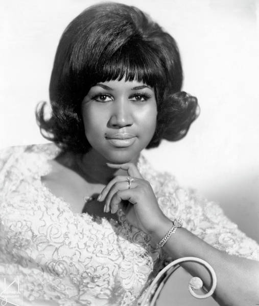 Photograph - Queen Of Soul Portrait by Michael Ochs Archives