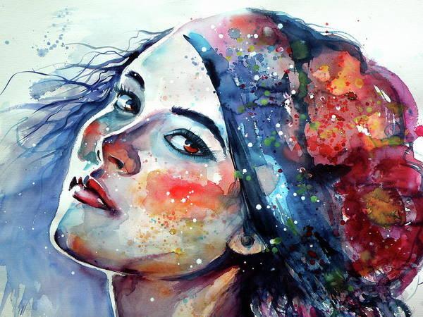 Wall Art - Painting - Queen Of The Fall Cd by Kovacs Anna Brigitta