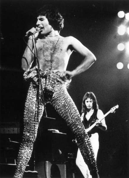 Photograph - Queen On Stage by Gary Merrin