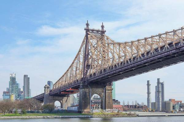 Photograph - Queensboro Bridge by Cate Franklyn