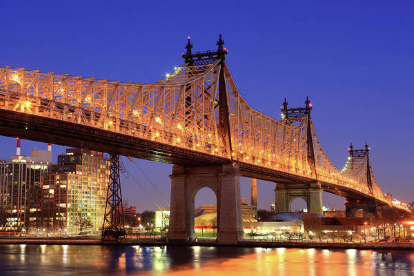 Roosevelt Island Wall Art - Photograph - Queensboro Bridge, Nyc by Jumper