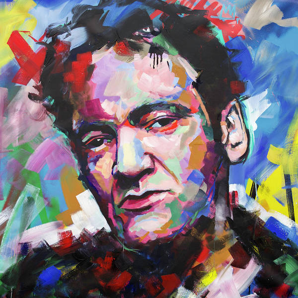 Reservoir Dogs Painting - Quentin Tarantino by Richard Day