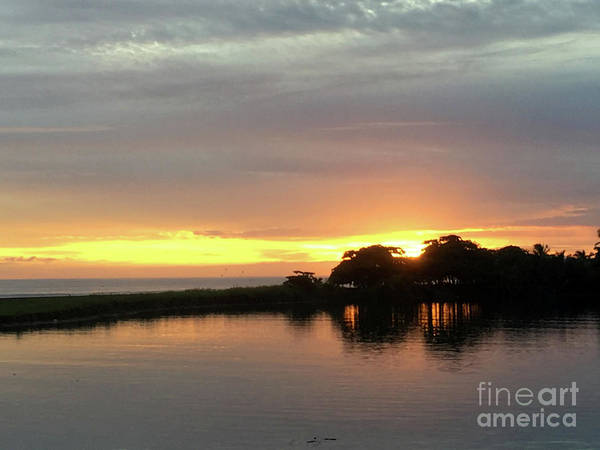Wall Art - Photograph - Quepos Sunset 1 by Andrew Dinh