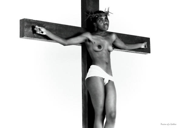 Wall Art - Photograph - Question On Cross by Ramon Martinez