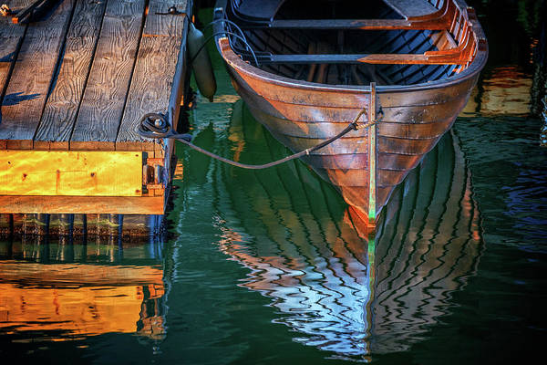 Photograph - Quiet Afternoon On The Dock by Rick Berk