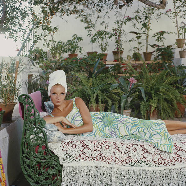 Marbella Photograph - Quiet Afternoon by Slim Aarons