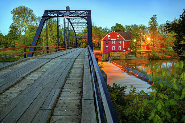 Photograph - Quiet Evening At War Eagle Mill - Rogers Arkansas by Gregory Ballos