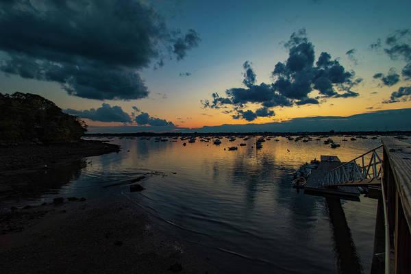 Photograph - Quiet Evening Sunset by Jeff Folger