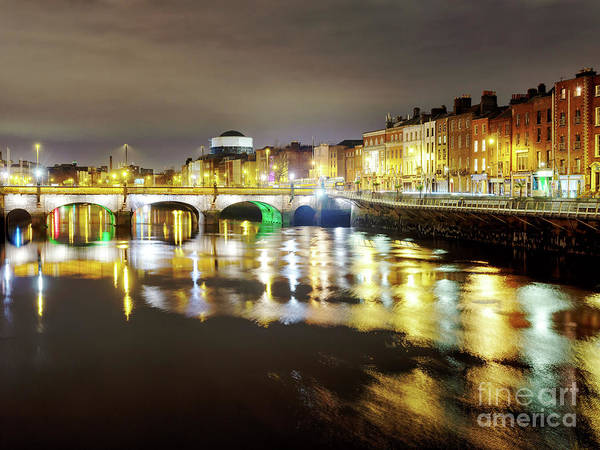 Wall Art - Photograph - Quiet Night In Dublin by John Rizzuto