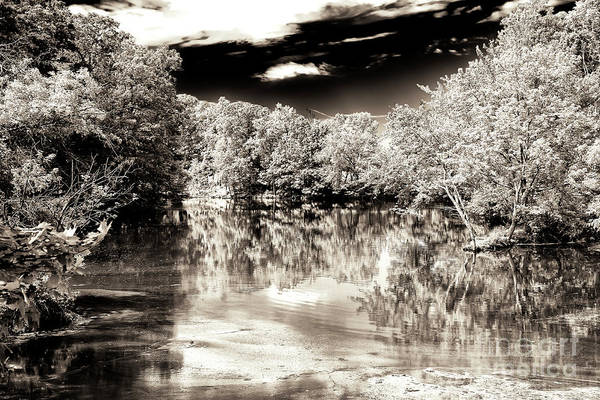 Photograph - Quiet On The Raritan River In New Jersey by John Rizzuto