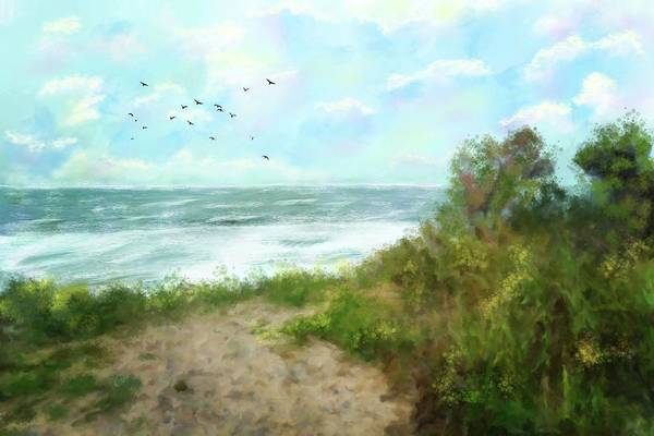 Provincetown Mixed Media - Quiet Place by Mary Timman