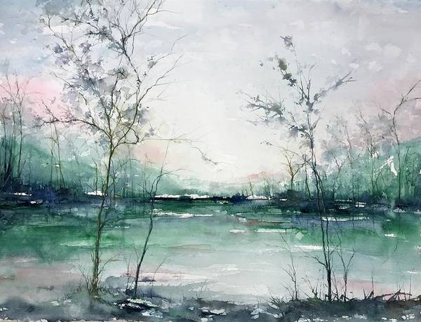 Painting - Quiet Waters by Robin Miller-Bookhout