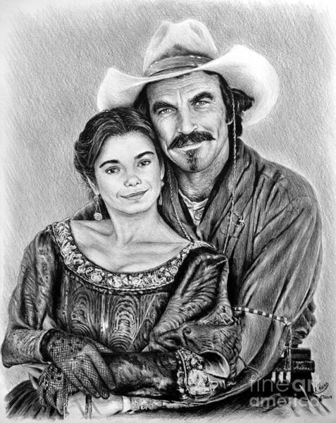 Wall Art - Drawing - Quigley Down Under by Andrew Read