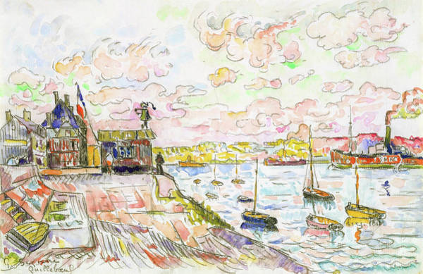 Wall Art - Painting - Quilleboeuf - Digital Remastered Edition by Paul Signac