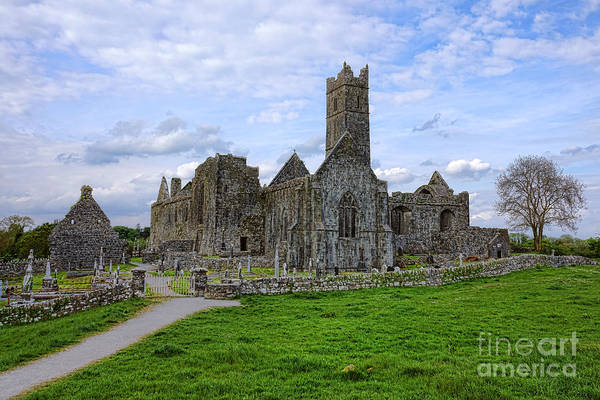 Wall Art - Photograph - Quin Abbey by Olivier Le Queinec