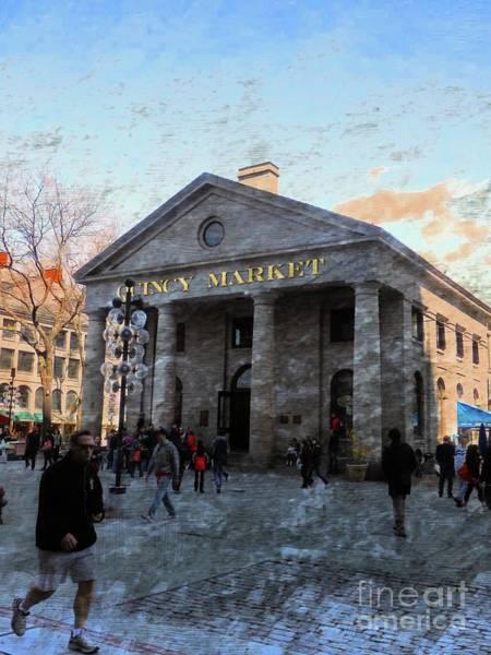 Photograph - Quincy Market by Marcia Lee Jones