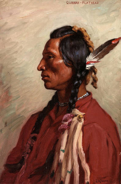 Wall Art - Painting - Quinnah, 1902 by Joseph Henry Sharp