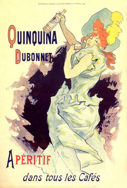 Painting - Quinquina Dubonnet 1896 Vintage French Advertising by Vintage French Advertising