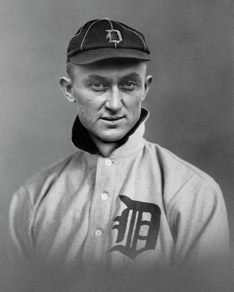 Wall Art - Photograph - Quintessential Detroit Tiger - Ty Cobb C. 1913 by Daniel Hagerman