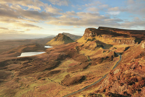 Photograph - Quiraing Morning Light - Isle Of Skye by Grant Glendinning