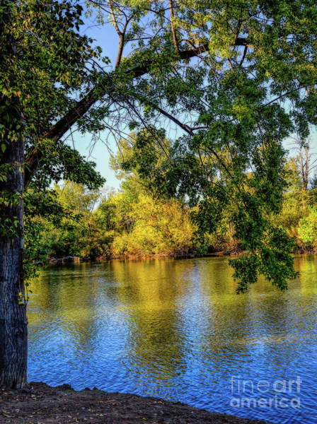 Photograph - Quite Idaho Evening On The Boise River by Jon Burch Photography