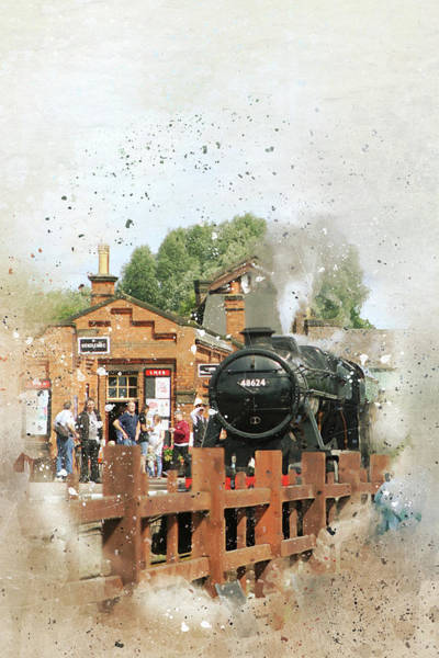 Greater Manchester Wall Art - Photograph - Quorn Station, Nottingham by Wayne Brown