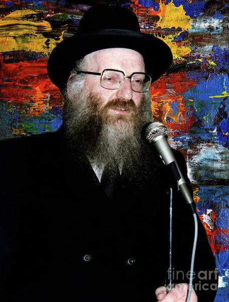 Photograph - Rabbi Matithyahu Salomon  by Doc Braham
