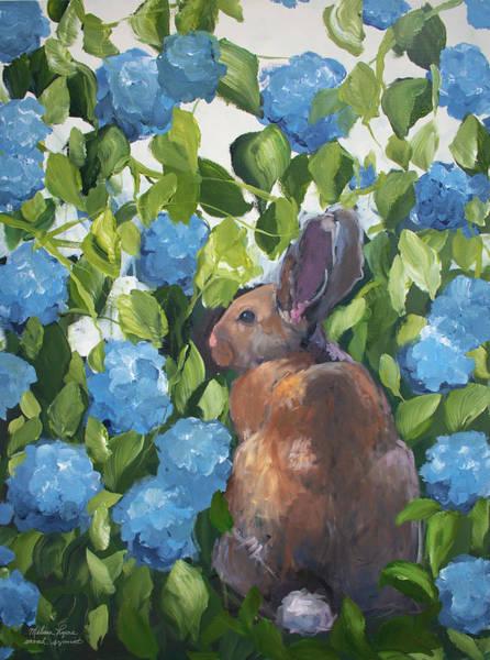 Wall Art - Painting - Rabbit by Melissa Lyons