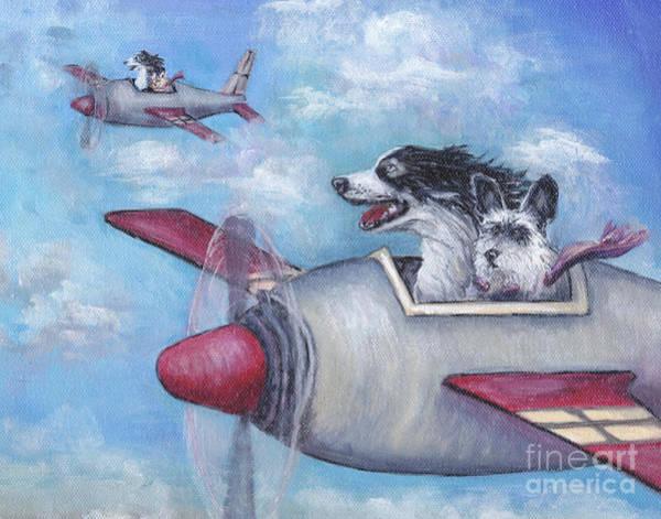 Wall Art - Painting - Race Day by Robin Wiesneth