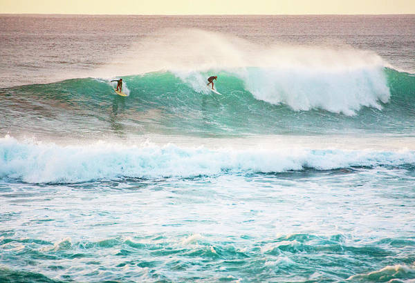 Photograph - Race For The Wave by Anthony Jones