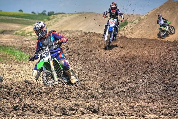 Photograph - Race Time by David Matthews