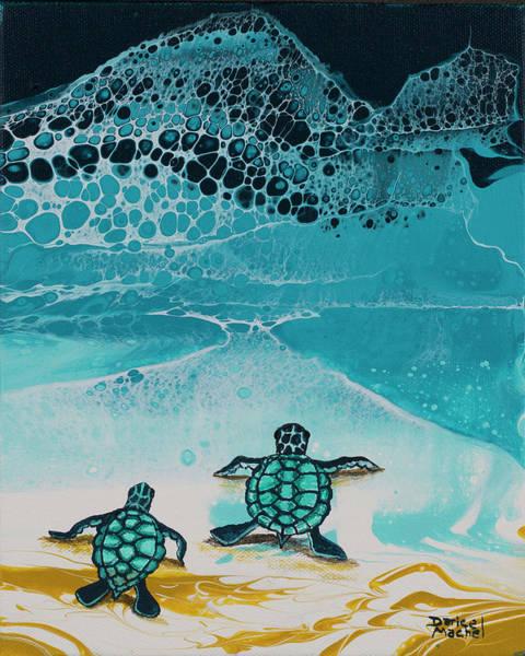 Painting - Race Ya by Darice Machel McGuire