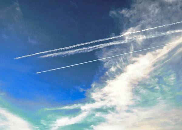 Photograph - Racetrack In The Sky by Judy Kennedy