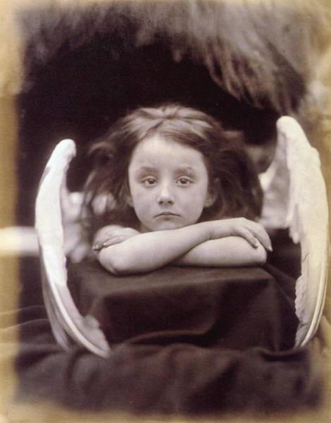 Child Actress Wall Art - Photograph - Rachel Gurney As Angel by Graphicaartis