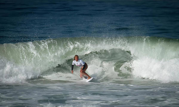 Photograph - Rachel Presti Surfer Girl by Waterdancer