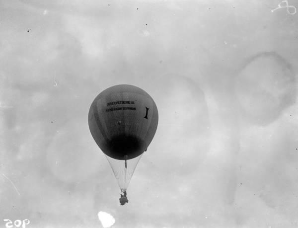 Belgium Photograph - Racing Balloon by Fox Photos