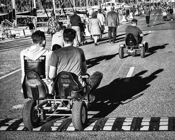 Photograph - Racing by Borja Robles