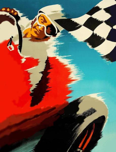 Wall Art - Digital Art - Racing Car by Long Shot