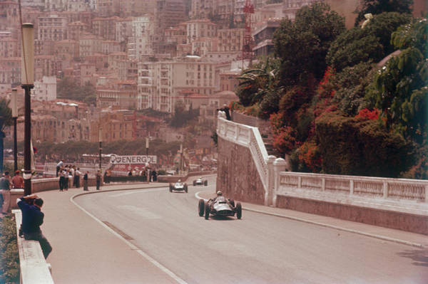 Monaco Photograph - Racing Cars On The Road Track At The by Heritage Images