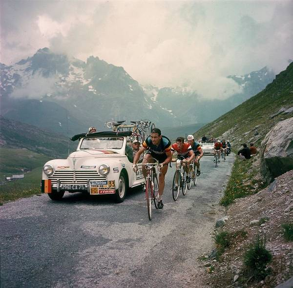 Human Interest Photograph - Racing Cyclists Of The Tour De France by Keystone-france